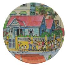 Small round dish with tuk band design.