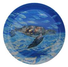 Turtle Harmony tray round by Sue Trew.