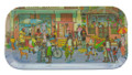 Street Scene Tray Small Long