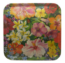 Caribbean Flower tray