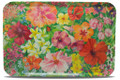 Caribbean Flowers Large Tray