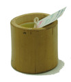 Bamboo Candle Mini Yellow