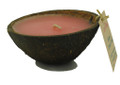 Coconut Candle Half Pink