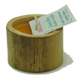 Bamboo Candle Mini Orange