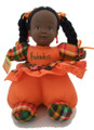 Renee Doll Orange with Braides