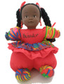 Renee Doll Red with Braides