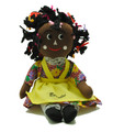 Rasta Doll Yellow Apron