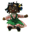 Rasta Doll Green Apron