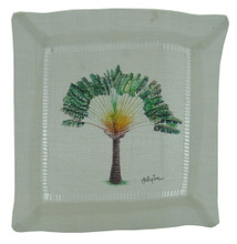 Cocktail napkin Travellers Palm.