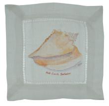 A linen cocktail napkin.