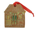 Clay Christmas Decoration Chattel House
