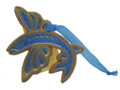 Clay Christmas Decoration Flying Fish
