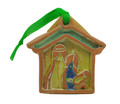 Clay Christmas Decoration Nativity