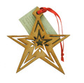 Wood Christmas Decoration Star