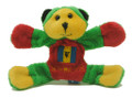 Magnet - Rasta Teddy Bear  NOW 50% OFF!