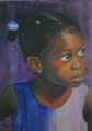 Barbadian Girl by Sue Trew