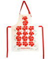 Red Hibiscus Apron