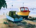 Evening Boats by Jill Walker