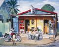 Rumshop Dominoes by Jill Walker