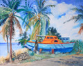 Sunday Morning at Six Men's Bay by Jill Walker