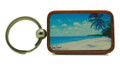 Keychain Barbados Art - West Coast Shadows