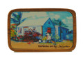 Magnet Barbados Art - Blue Chattel House