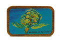 Magnet Barbados Art - Turtle Advancing