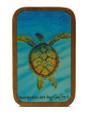 Magnet Barbados Art - Turtle Gliding