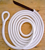 White Lead Rope - Shown here without Hardware