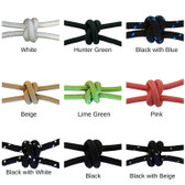 """Firm Halter Cord 1/4"""" Color Choices"""