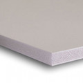 "3/8""  White Acid Free Buffered Foam Core Boards  : 48 X 96"