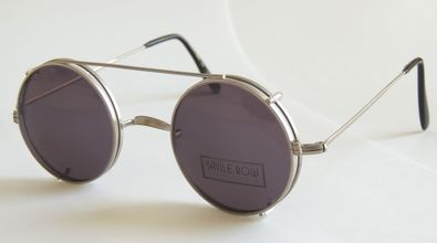 Buy Savile Row prescription glasses with clip on sunglasses
