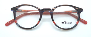 Outstanding Panto spectacles in layered acetate with wonderful Italian design