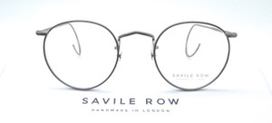HAND MADE TO ORDER IN LONDON 18k Rolled Gold Savile Row Panto Glasses With Hooked Ear Pieces