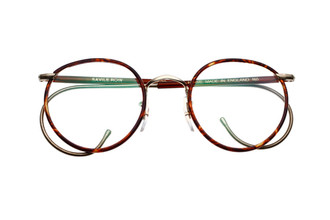 The Beaufort Panto From Savile Row London available from www.theoldglassesshop.com