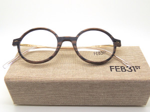 FEB31st Model Peter Wooden Hand MAde Italian Glasses Frames