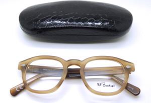 1960s Italian retro geek style acrylic glasses from www.theoldglassesshop.co.uk
