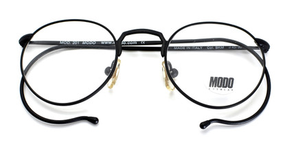 Modo 201 Black Frames from www.theoldglassesshop.co.uk