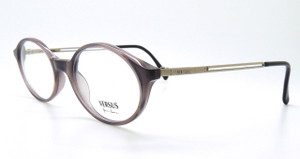 Versace Designer  B77 Grey Oval Acrylic Prescription Glasses 48mm Lens