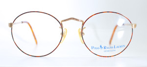 Round Vintage Polo By Ralph Lauren Frames