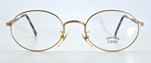 Oval Gold Engraved Frames By SAKI At The Old Glasses Shop