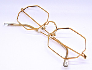 Savile Row Hexagonal gold Filled Savile Row Frames