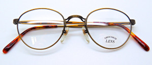 Vintage style panto shaped frames by SAKI available at The Old Glasses Shop