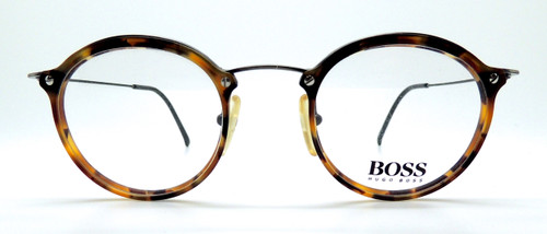 Round Tortoiseshell Glasses By Hugo Boss At The Old Glasses Shop