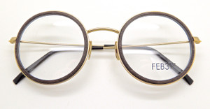 FEB31st wooden combination spectacles from The Old GLasses Shop