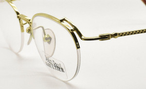 Jean Paul Gaultier half rim designer eyewear from www.theoldglassesshop.co.uk