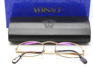 Versace oval reading glasses from The Old Glasses Shop Ltd