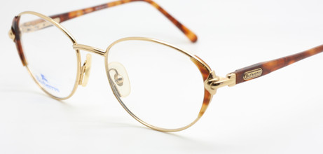 Gold and turtle, metal and acrylic frames by Burberry