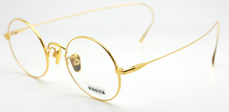 Fabulous round frames with classic curlside temples to go around your ears and make wearing more secure