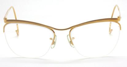 Vintage Savile Row Algha Works Half Rim Glasses At www.theoldglassesshop.co.uk